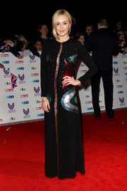 Fearne Cotton went for whimsical glamour in a cosmic-themed sequin gown by & Other Stories at the Pride of Britain Awards.