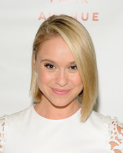 Becca Tobin sported a super-cool asymmetrical cut at the 'Primates of Park Avenue' release event.