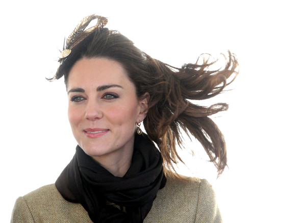 Look of the Day: Kate Middleton in Alexander McQueen
