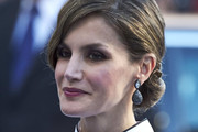 Queen Letizia of Spain Chignon