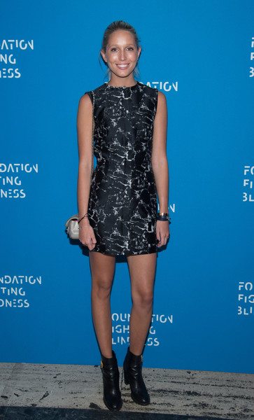 Princess Maria-Olympia Print Dress [clothing,cocktail dress,dress,fashion model,cobalt blue,electric blue,footwear,fashion,hairstyle,shoulder,new york city,cipriani downtown,foundation fighting blindness world gala,maria-olympia]