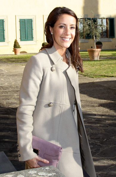 More Pics of Princess Marie Cardigan (1 of 59) - Tops Lookbook - StyleBistro [badia fiesolana,white,clothing,outerwear,uniform,blazer,fashion,formal wear,suit,coat,jacket,marie of denmark,florence,italy,visit]
