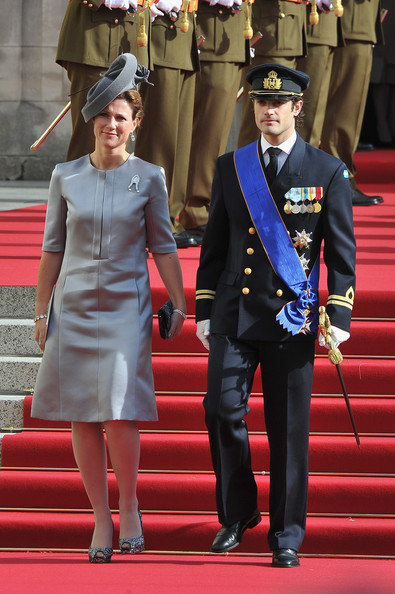 Princess Martha Louise Cocktail Dress [guillaume of luxembourg stephanie de lannoy - official ceremony,carl philip of sweden,martha louise of norway,stephanie,prince,belgian countess,uniform,military uniform,fashion,event,official,carpet,gesture,military officer,red carpet,style,luxembourg,cathedral of our lady,wedding,wedding ceremony]