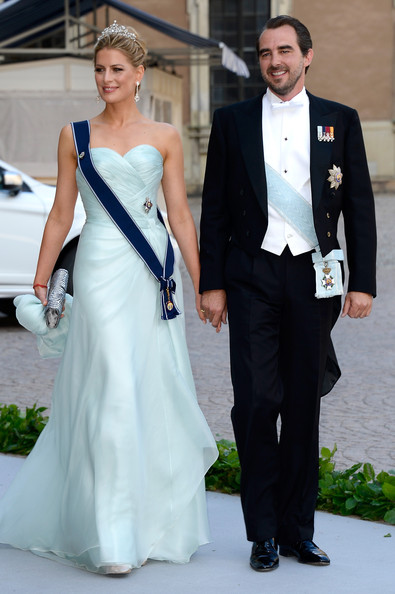 Princess Tatiana Strapless Dress [tatiana,nikolaos,christopher oneill,silvia,princess madeleine of sweden,clothing,gown,suit,dress,formal wear,white,wedding dress,tuxedo,fashion,shoulder,wedding of princess madeleine,wedding,greece,the royal palace,sweden]