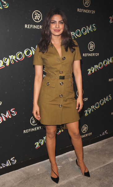 Priyanka Chopra Shirtdress
