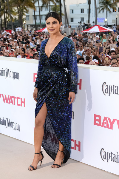 Priyanka Chopra Wrap Dress