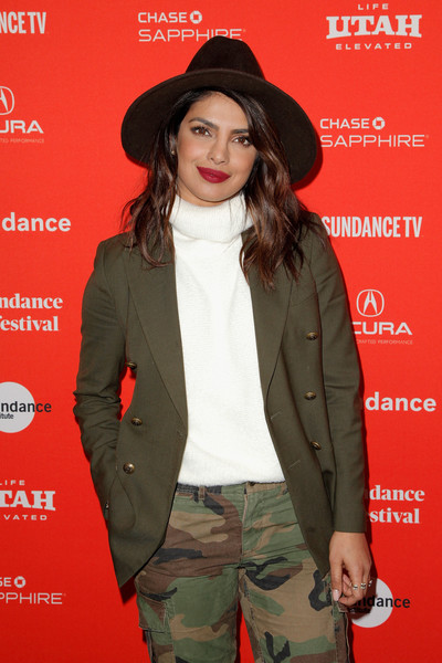 Priyanka Chopra Turtleneck
