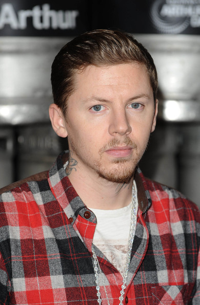 Professor Green Short Straight Cut