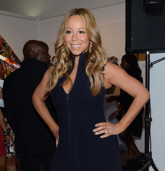 More Pics of Mariah Carey Layered Cut (1 of 24) - Mariah Carey Lookbook - StyleBistro