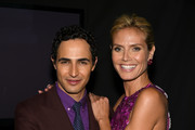 Zac Posen and Heidi Klum Photo