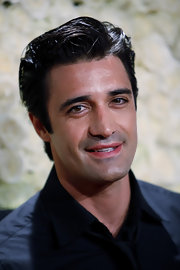 Gilles Marini worked his signature slicked-back, side-swept 'do at a cocktail party in LA.