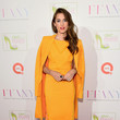 Look of the Day, October 20: Allison Williams in Bold Brights