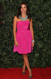 Shoshanna Lonstein had a pretty cuff on at the QVC Party.