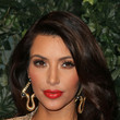 Kim Kardashian's Almost-Orange Lipstick