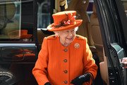 Queen Elizabeth II Wool Coat
