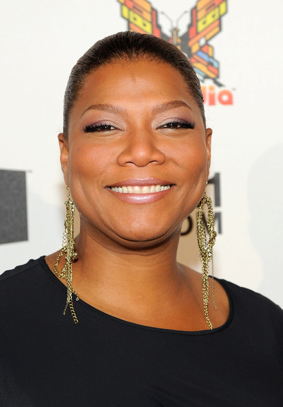 Queen Latifah Gold Dangle Earrings