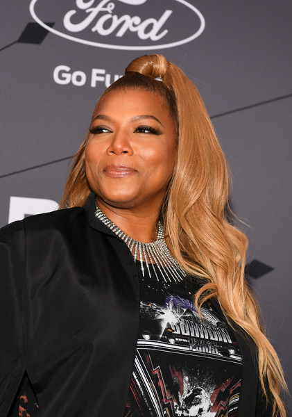 Queen Latifah Half Up Half Down