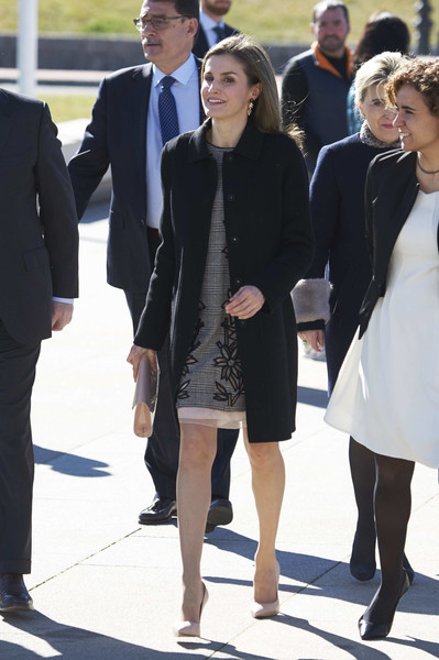 Queen Letizia of Spain Wool Coat