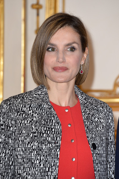 Queen Letizia of Spain Bob