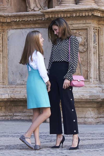 Queen Letizia of Spain Quilted Leather Bag