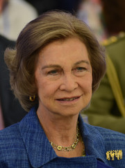 Queen Sofia inaugurated the Alzheimer Symposium wearing this classic bob.