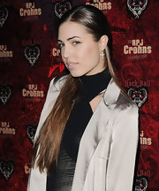 Amber Le Bon partially tied her locks up for the RPJ Crohns Foundation Ball.