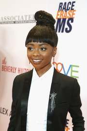 Skai Jackson rocked an over-the-top knot at the Race to Erase MS Gala.