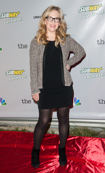 Rachael Harris Little Black Dress