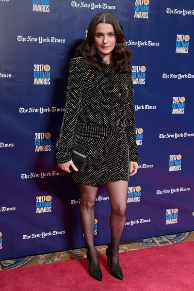 Rachel Weisz Beaded Dress