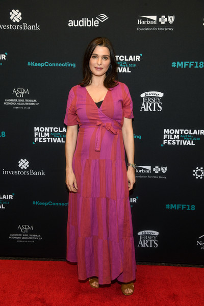 Rachel Weisz Maternity Dress