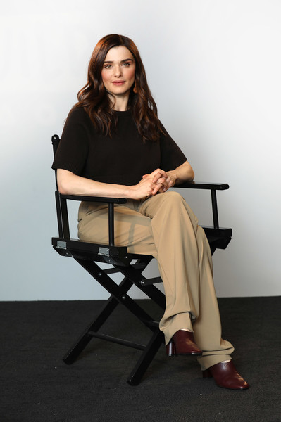 Rachel Weisz Slacks [my cousin rachel,photo,sitting,chair,leg,furniture,photography,photo shoot,neck,rachel weisz,the cast,cast,build ldn,build ldn,aol london,england,event]