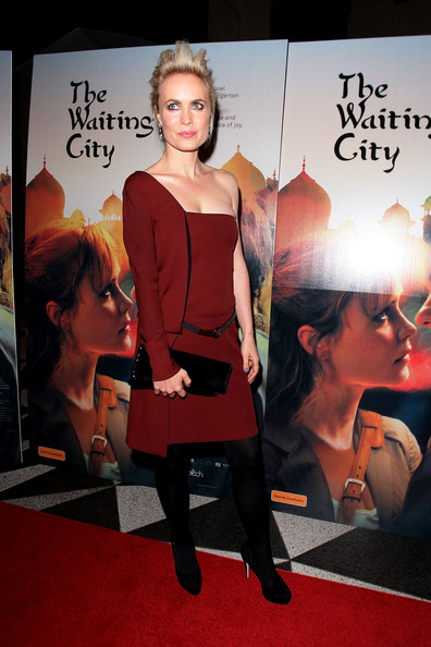 Radha Mitchell Patent Leather Clutch [the waiting city,red,carpet,fashion,red carpet,flooring,premiere,dress,fashion model,event,fashion design,sydney premiere,radha mitchell,sydney,australia,dendy opera quays,premiere]