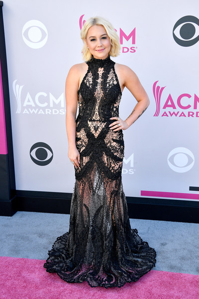 RaeLynn Sheer Dress