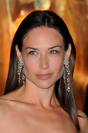Claire Forlani wowed the crowd in dangling diamond earrings at a Raisa Gorbachev Foundation party.