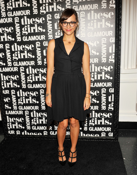 Rashida Jones Studded Heels