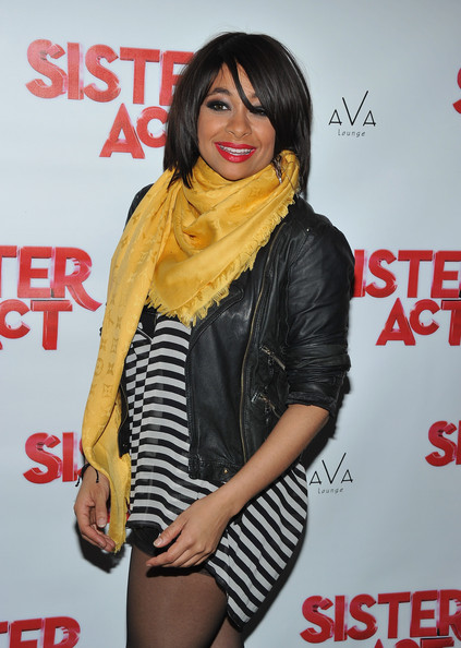 More Pics of Raven-Symone Medium Straight Cut with Bangs (1 of 10) - Raven-Symone Lookbook - StyleBistro [sister act,thigh,leg,outerwear,premiere,black hair,carpet,raven-symone,dream hotel,new york city,ava lounge,broadway,party,party,debut,debut]