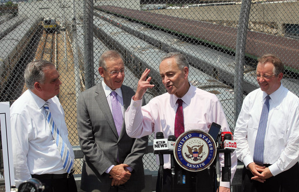 Politicians Announce NYC Infrastructure Project