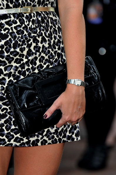 Rebecca Adlington Leather Clutch