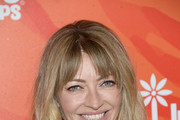Rebecca Gayheart Long Wavy Cut with Bangs