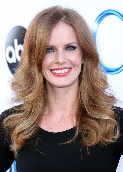 Rebecca Mader Feathered Flip