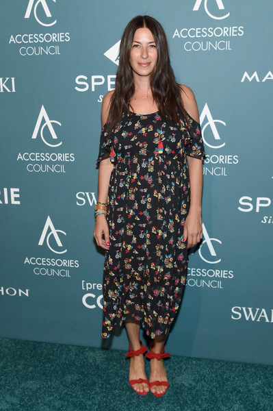 Rebecca Minkoff Strappy Sandals [clothing,dress,carpet,premiere,red carpet,hairstyle,fashion,footwear,fashion model,long hair,rebecca minkoff,ace awards,annual accessories council ace awards,new york city,cipriani 42nd street,accessories council]