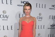 Rebecca Romijn Form-Fitting Dress