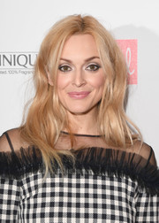 Fearne Cotton attended the Red Women of the Year Awards sporting a billowy hairstyle.