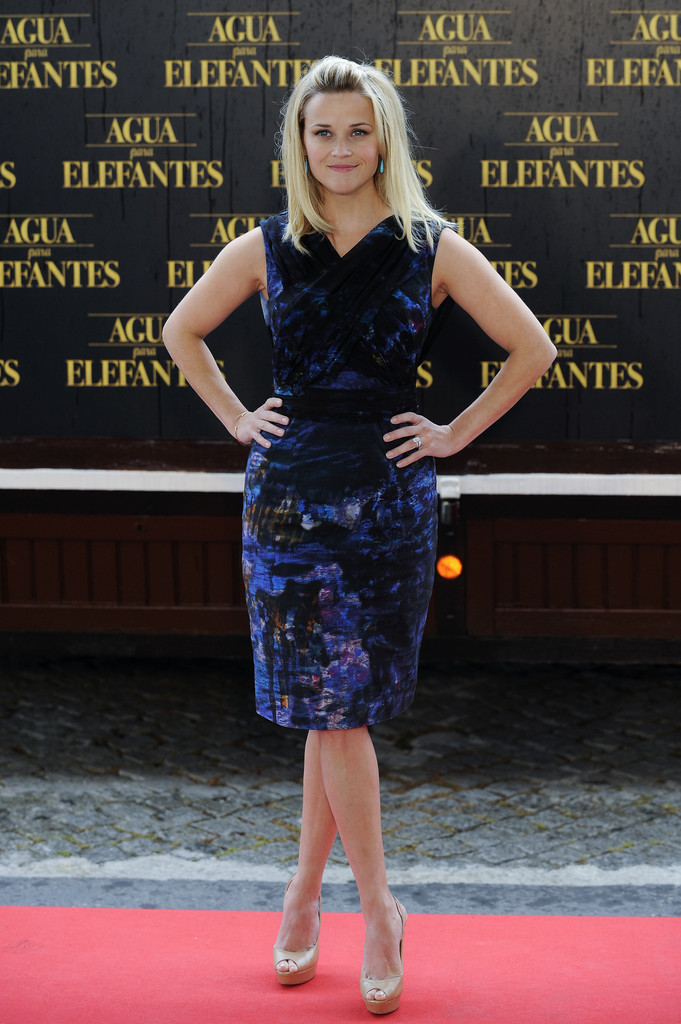Reese Witherspoon Platform Pumps Reese Witherspoon Looks
