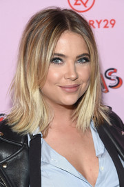 Ashley Benson sported a shoulder-length layered 'do with flippy ends at the 29Rooms: Turn It Into Art event.