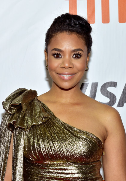 Regina Hall Braided Updo