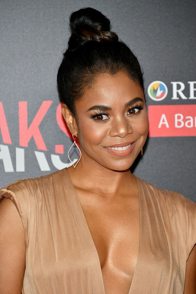 Regina Hall Hair Knot