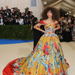 In Dolce & Gabbana Alta Moda At The 2017 Met Gala