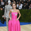 Lily-Rose Depp at the 2017 Met Gala
