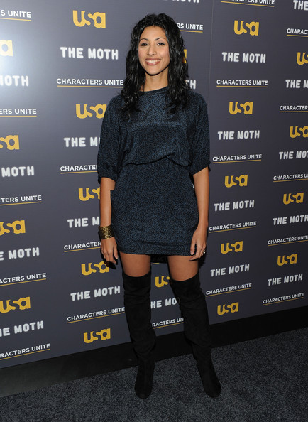 Reshma Shetty Over the Knee Boots